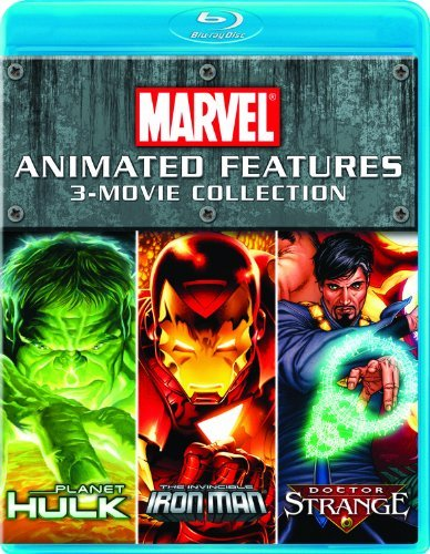 Marvel Animated Features 3 Movie Collection Marvel Animated Features 3 Movie Collection Ws Blu Ray Pg13 3 Br
