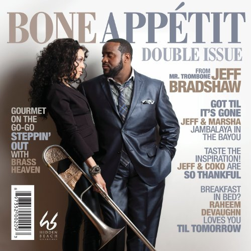 Jeff Bradshaw Vol. 1 2 Bone Appetit Deluxe Ed. 2 CD