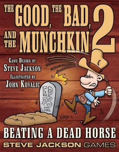 Steve Jackson Games Munchkin Good The Bad And The Munchkin 2