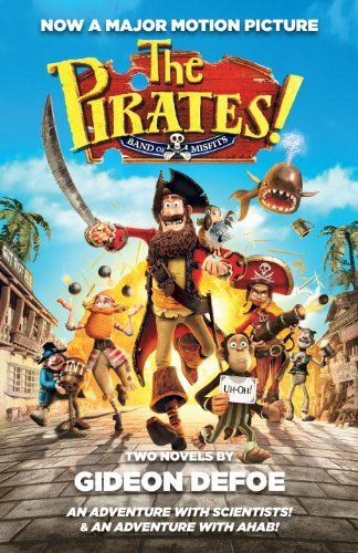 Gideon Defoe Pirates! Band Of Misfits (movie Tie In Edition The An Adventure With Scientists & An Adventure With