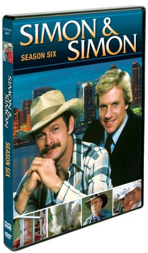 Simon & Simon Season 6 DVD Simon & Simon Season 6