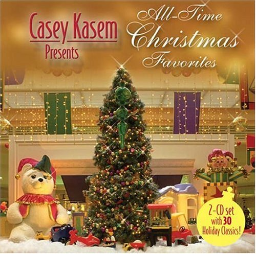 Casey Kasem Presents All Time Christmas Favorites 2 CD Set
