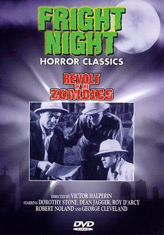 Revolts Of The Zombies Fright Night Horror Classics Bw Keeper Nr