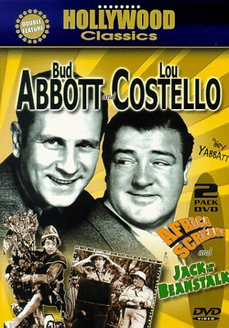 Africa Screams Jack & The Bean Abbott & Costello Bw Keeper Nr 2 DVD