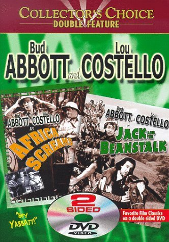 Africa Screams Jack & The Bean Abbott & Costello Bw Keeper Nr