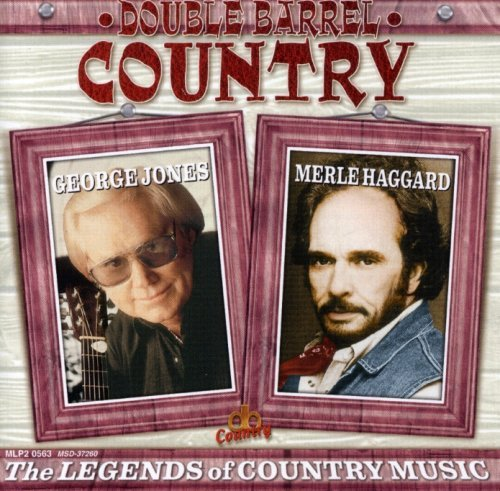 Jones Haggard Legends Of Country Music Double Barrel Country