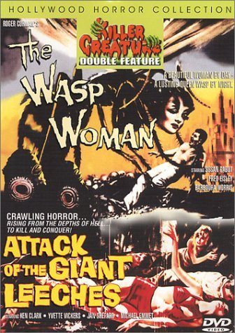 Wasp Woman Attack Of The Giant Killer Creatures Double Featur Clr Nr 2 On 1