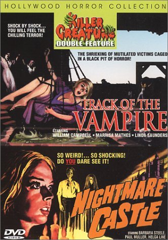 Track Of The Vampire Nightmare Killer Creatures Double Featur Clr Nr 2 On 1