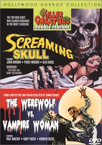 Screaming Skull Werewolf Vs Va Killer Creatures Double Featur Clr Nr 2 On 1
