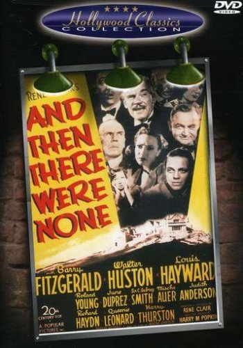 And Then There Were None Fitzgerald Huston Hayward Youn Clr Nr