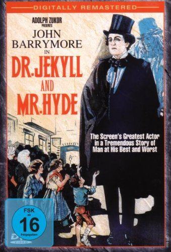 Dr. Jekyll & Mr. Hyde Fright Night Horror Classics Bw Keeper Nr