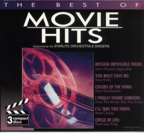 Starlite Orchestra & Singers Movie Hits 3 CD Set