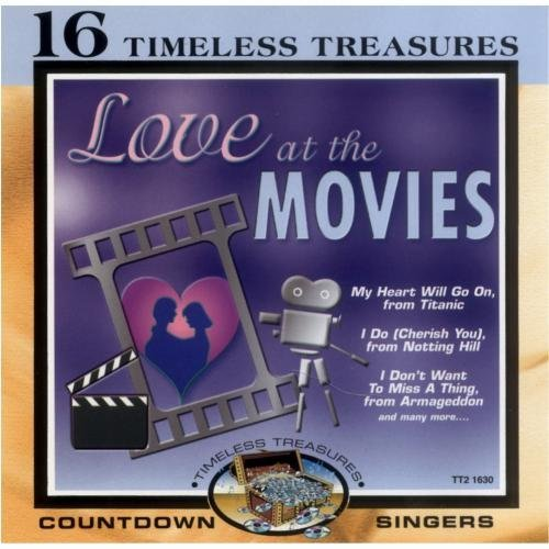 Countdown Singers Love At The Movies Enhanced CD Timeless Treasures