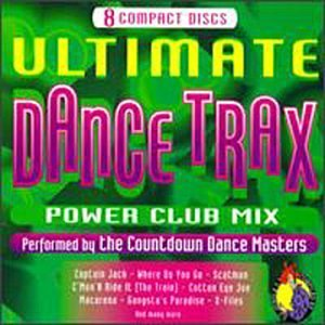 Countdown Dance Masters Ultimate Dance Trax 8 CD Set