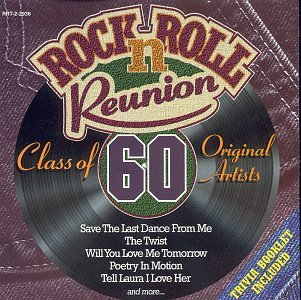 Rock N Roll Reunion Class Of 1960 Incl. Trivia Booklet Rock N Roll Reunion