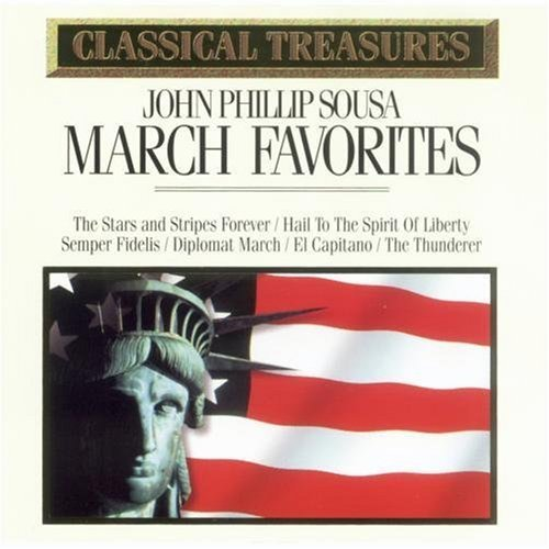 J.P. Sousa Classical Treasures March Favorites