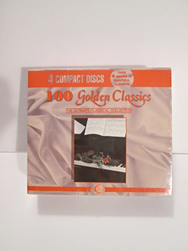 100 Golden Classics Ultimate Classical Collection 4 CD 4 Cass Set
