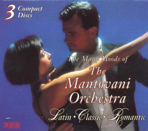 Mantovani Orchestra Many Moods Of 3 CD Set