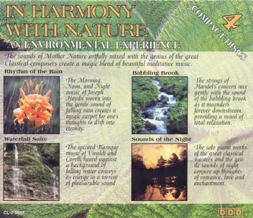 In Harmony With Nature In Harmony With Nature Vivaldi Corelli Albinoni Bach Chopin Grieg Schumann Liszt +