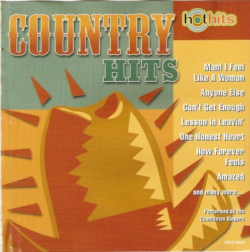 Countdown Singers Country Hits Hot Hits