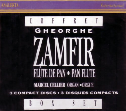 Zamfir Cellier Improvisations For Pan Flute &