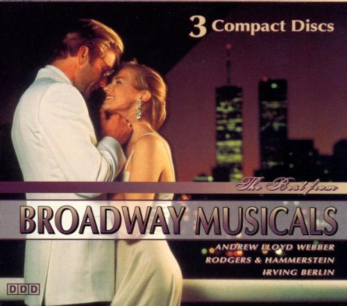 Best From Broadway Musicals Best From Broadway Musicals 3 CD Set
