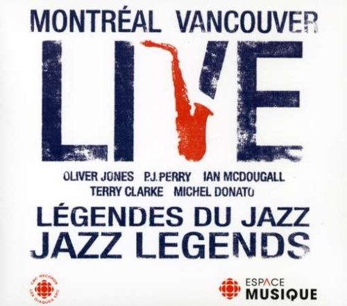 Live Jazz Legends Live Jazz Legends Import Can