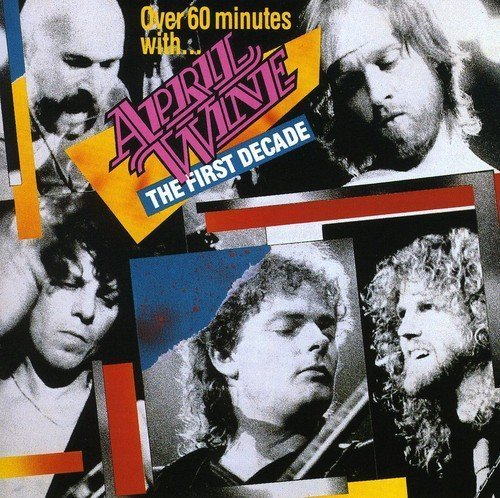 April Wine First Decade Import Can