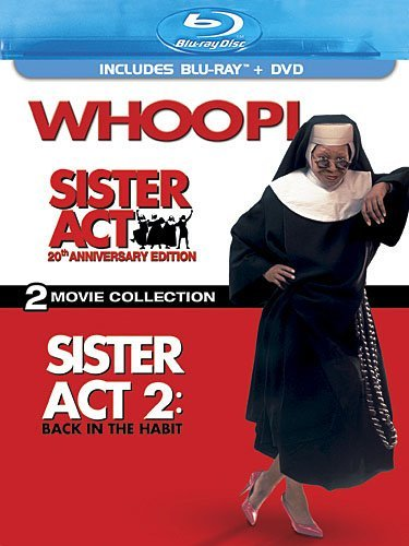 Sister Act Goldberg Keitel Blu Ray Ws 20th Anniv. Ed. Pg 1 Br 2 DVD