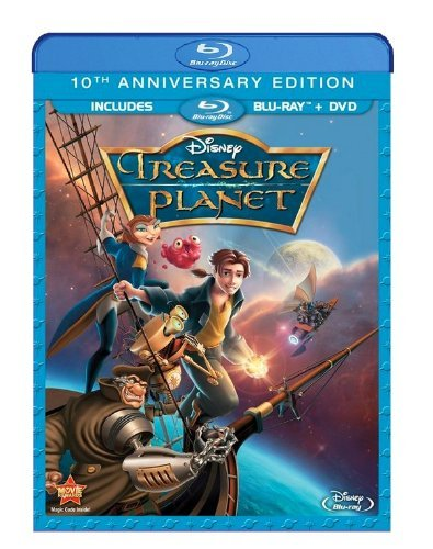 Treasure Planet Disney Blu Ray DVD Pg
