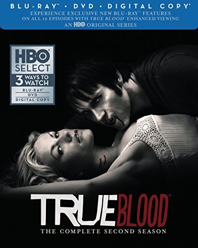 True Blood Season 2 Blu Ray DVD Dc Nr