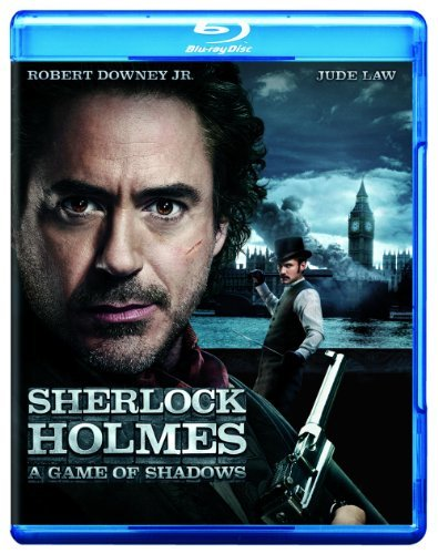 Sherlock Holmes A Game Of Sha Best Buy Walmart Exclusive Blu Ray Ws Pg13