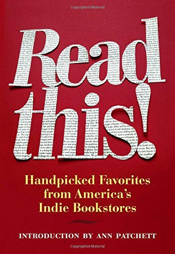 Hans Weyandt Read This! Handpicked Favorites From America's Indie Booksto
