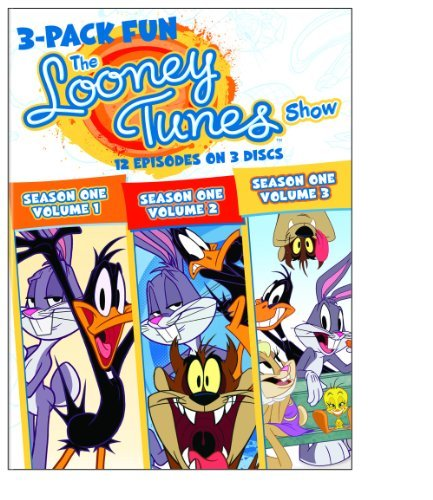 Looney Tunes Show 3pak Of Fun Looney Tunes Show 3pak Of Fun Nr 3 DVD
