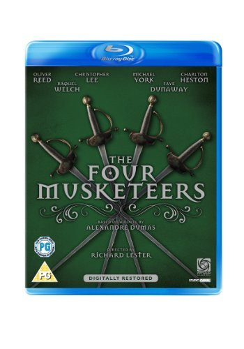 Four Musketeers Reed Welch Chamberlain York Fi Blu Ray