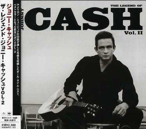 Johnny Cash Vol. 2 Ring Of Fire Legend Of Import Jpn