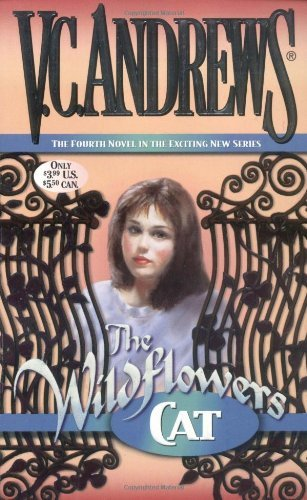 V. C. Andrews Cat (wildflowers)