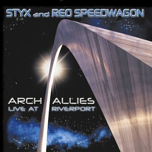 Styx Reo Speedwagon Arch Allies Live At Riverport 2 CD Set