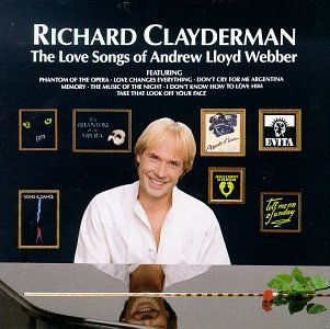 Richard Clayderman Love Songs Of Andrew Lloyd Web