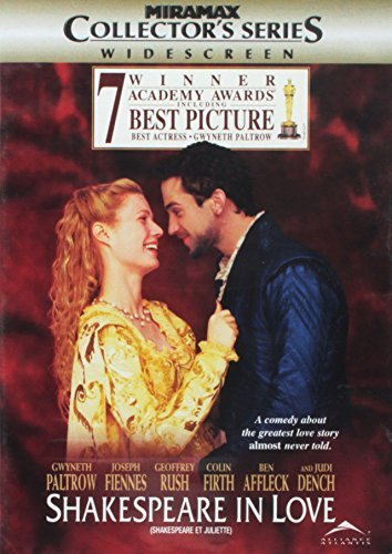 Shakespeare In Love Paltrow Fiennes Affleck