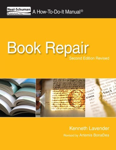 Kenneth Lavender Book Repair A How To Do It Manual Second Edition Revised 0002 Edition;revised