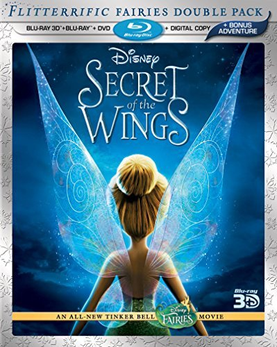 Secret Of The Wings 2d 3d Secret Of The Wings 2d 3d Blu Ray 3d Ws G 2 Br Incl. DVD Dc