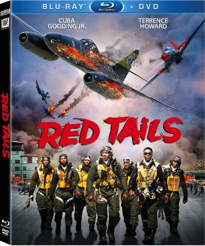 Red Tails Gooding Howard Blu Ray Ws Pg13 Incl. DVD