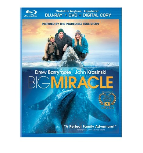 Big Miracle Barrymore Krasinski Blu Ray Ws 2 Sided Pg Incl. DVD Uv Dc