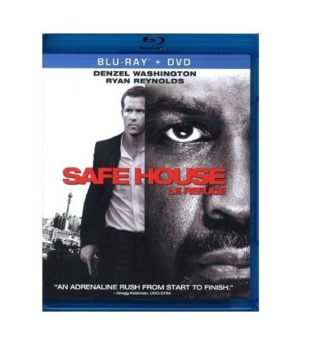 Safe House Washington Reynolds Blu Ray Ws R Incl. DVD Dc Uv