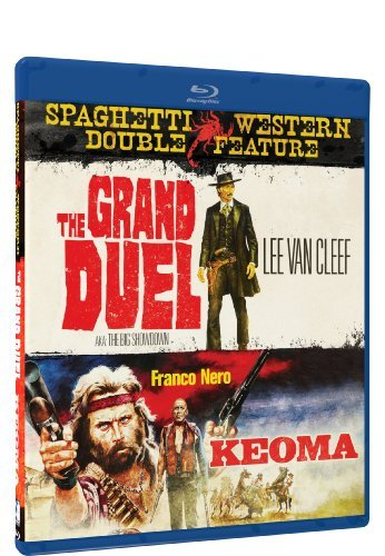Grand Duel Keoma Spaghetti Western Double Featu Blu Ray Ws R