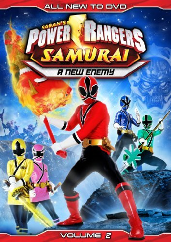 Vol. 2 New Enemy Power Rangers Samurai Ws Nr
