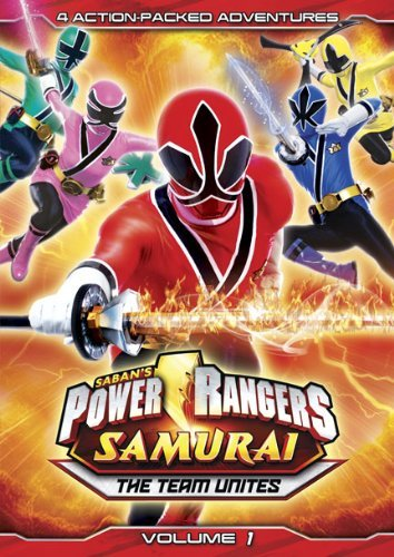 Vol. 1 Team Unites Power Rangers Samurai Ws Nr