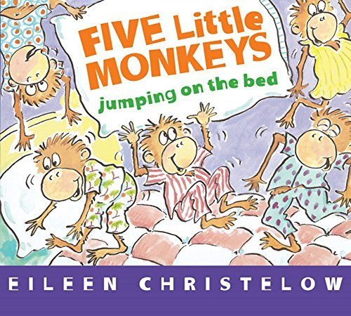 Eileen Christelow Five Little Monkeys Jumping On The Bed