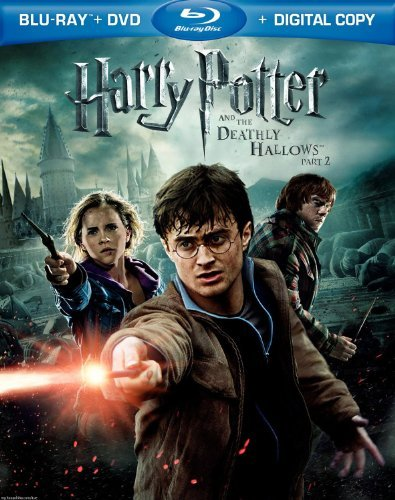 Harry Potter & The Deathly Hallows Pt. 2 Radcliffe Grint Watson Blu Ray DVD Digital Copy Bonus Disc